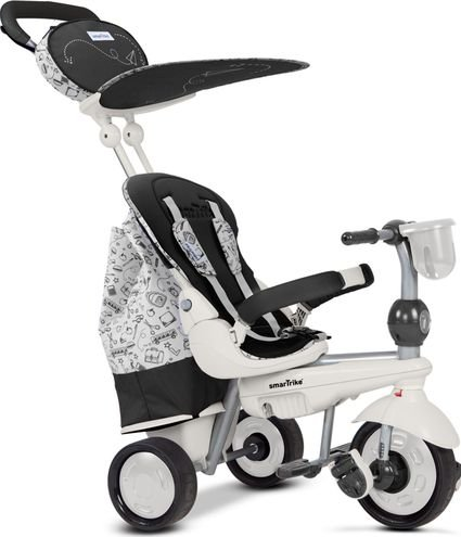 Велосипед Smart Trike 5в1 Dazzle/Splash Black White (от 10 месяцев до 3х лет)
